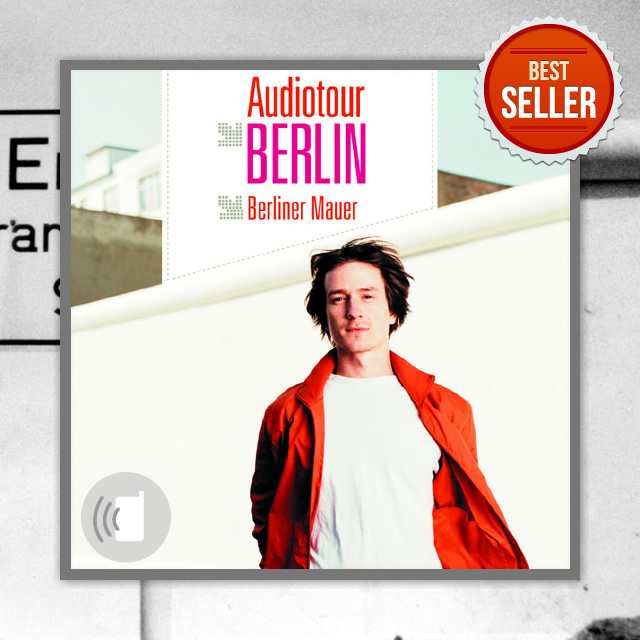 "Audioguide Cover ""Berliner Mauer"""